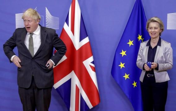Johnson zegt dat 'kans groot is' dat er geen Brexit-akkoord komt