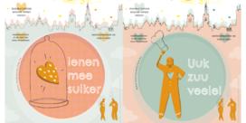 Gentenaars wensen elkaar gelukkig nieuwjaar met 100.000 affiches