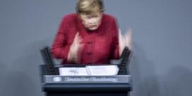 Merkel heeft het weer 'geschafft'