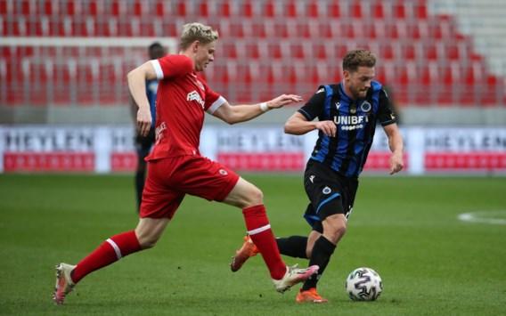 Club Brugge alleen leider na zege tegen tien man van Antwerp