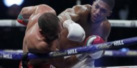 Anthony Joshua kijkt al uit naar Tyson Fury
