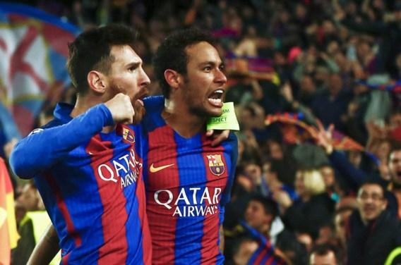 Neymar dropt bommetje: 'Ik hoop volgend seizoen opnieuw met Messi samen te spelen'