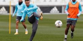 Goed nieuws vanuit Madrid: Eden Hazard hervat groepstrainingen