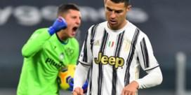 Duur puntenverlies voor Juventus na gemiste strafschop Cristiano Ronaldo