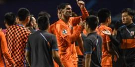 Marouane Fellaini pakt zijn eerste (en meteen zijn laatste?) trofee in China