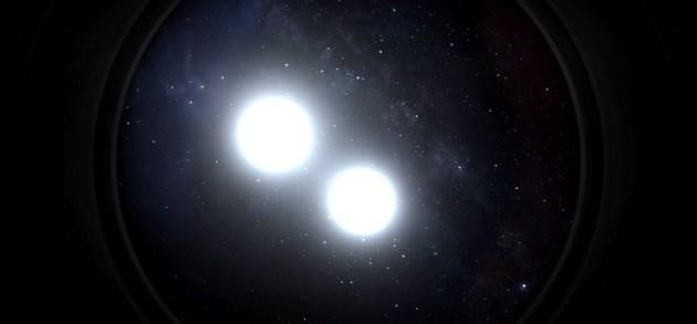 Een echte Kerstster: Jupiter en Saturnus worden elkaars 'knuffelcontact'
