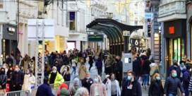 Ruim 10.000 man in Gent-centrum, maar 'druktebarometer' blijft groen