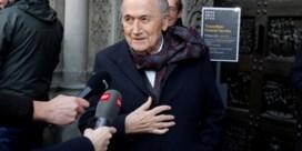 FIFA dient aanklacht in tegen ex-voorzitter Sepp Blatter