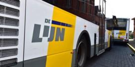 Helft trams en bussen rijdt niet door staking bij De Lijn