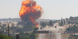 En plots viel het doek voor Idlib