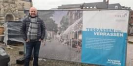 Tienen herbekijkt aanleg van terrassen Grote Markt