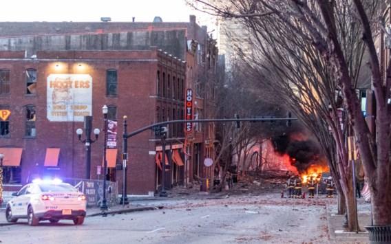 Ontploffing met camper in Nashville was mogelijk zelfmoordaanslag