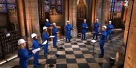 Er klinkt weer kerstmuziek in de Notre-Dame