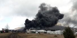 Vluchtelingenkamp in Bosnië verwoest door brand