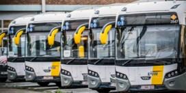 Meeste bussen en trams gewoon uitgereden