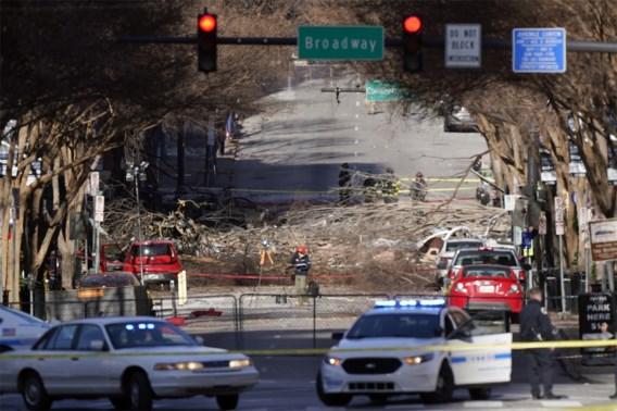 Dader ontploffing Nashville omgekomen
