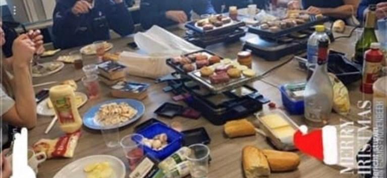 Chef van politieafdeling in Molenbeek op non-actief gezet na kerstfeestje