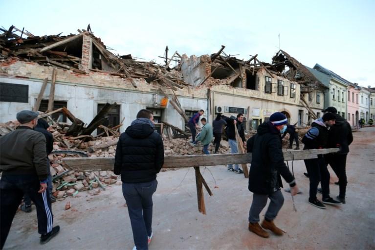 Al zeker zes doden na nieuwe aardbeving in Kroatië