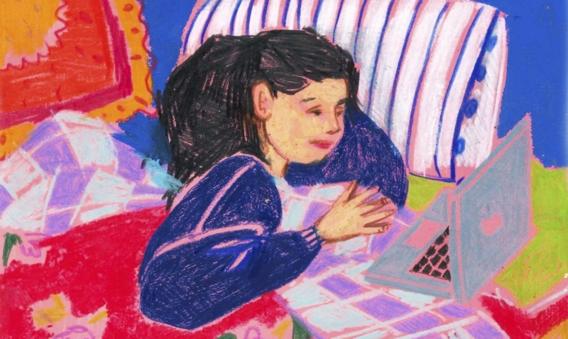 Een creatieve uitlaatklep voor jongeren: 'Door te schrijven en te tekenen gaan ze om met hun problemen'