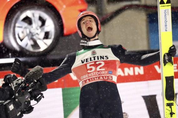 Van corona herstelde Geiger wint eerste manche van Vierschansentournee