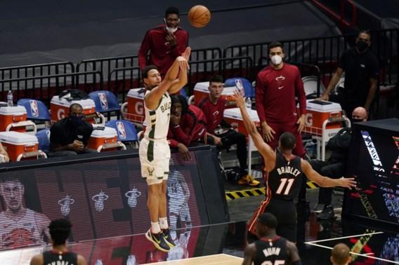 Nieuw record in NBA: Milwaukee Bucks maken liefst 29 driepunters in een wedstrijd