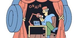 Zoek naar het rock-'n-rollgevoel in een podcast