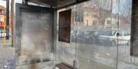 Vandalen blazen Gentse tramhalte op
