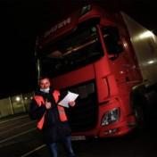 Brexit laat zich voorlopig niet voelen voor vrachtwagenchauffeurs