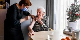 'Tegen eind januari zit vaccinatie op kruissnelheid'