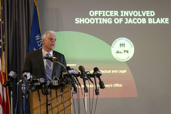 Agenten die Jacob Blake in de rug schoten worden niet vervolgd