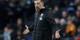 West Bromwich Albion zet coach Slaven Bilic aan de deur