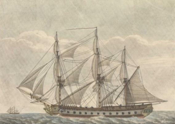 Nederlandse duikers vinden kanonnen van gezonken Brits oorlogsschip uit 1799