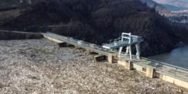 Enorme hoeveelheid afval bedreigt Servische waterkrachtcentrale