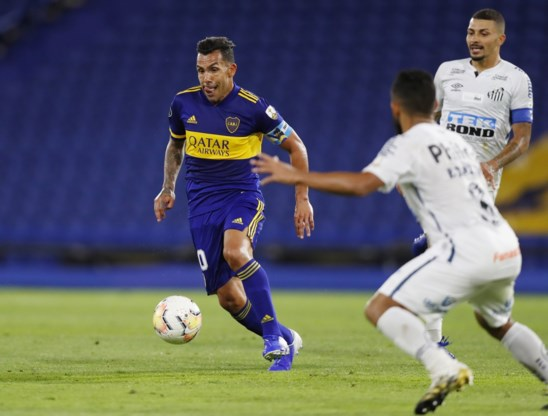 Boca Juniors en Santos houden elkaar in evenwicht in heenwedstrijd halve finale Copa Libertadores