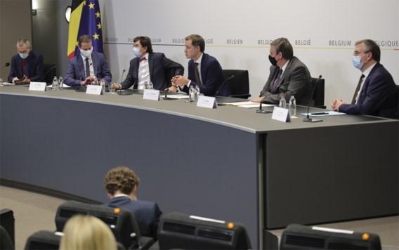 'Vandaag op het Overlegcomité versoepelingen noch verstrengingen'