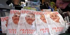 Paus Franciscus siert cover 'Vanity Fair'
