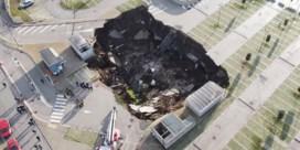 Corona-afdeling in Napels geëvacueerd door zinkgat op parking