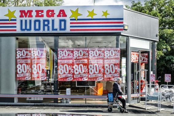 'Duitse interesse in winkels Mega World'
