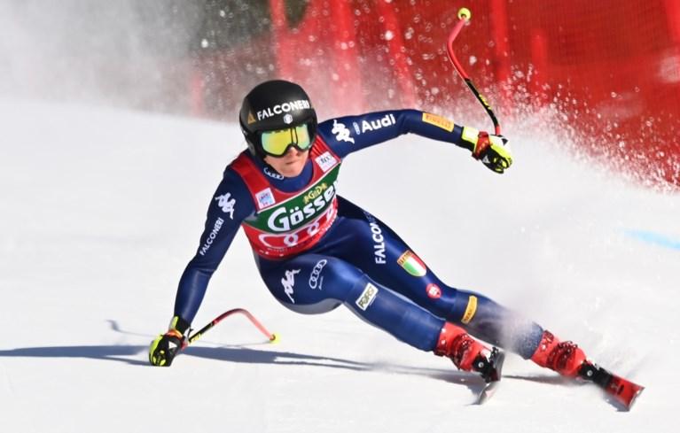 """Amerikaanse skiër Tommy Ford komt zwaar ten val in reuzenslalom Adelboden: """"Hij is bij bewustzijn"""""""