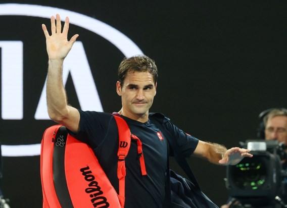"""Organisatie Australian Open verwacht dat Roger Federer zal deelnemen: """"Hij heeft zijn eerste ballen geslagen"""""""