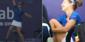 """Kirsten Flipkens geeft update over blessure na lelijke valpartij: """"Trouwens, die reclameborden moeten ze verbieden"""""""