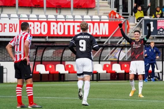 Feyenoord klopt Sparta in Rotterdamse derby