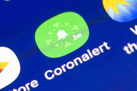 Coronalert verslikt zich in Europese update