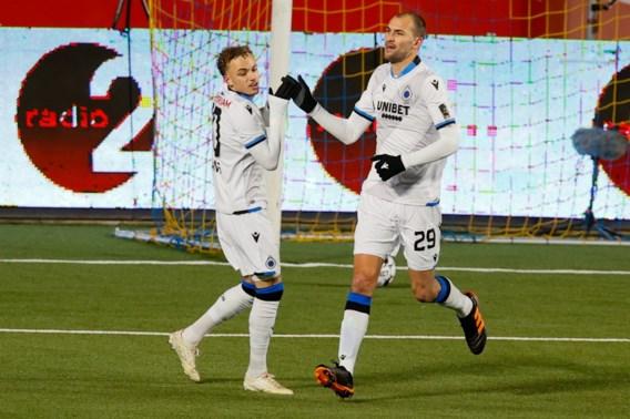 Bas Dost komt met debuutgoal voor Club Brugge in rijtje met Samuel Eto'o en Mario Balotelli