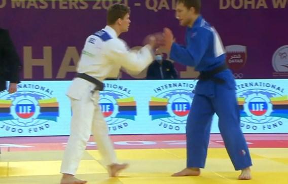 Ontgoocheling voor Matthias Casse: titelverdediger verliest meteen op Masters judo in Doha