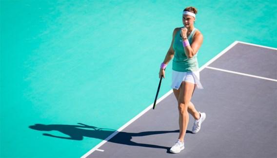 Sabalenka en Kudermetova spelen finale WTA Abu Dhabi