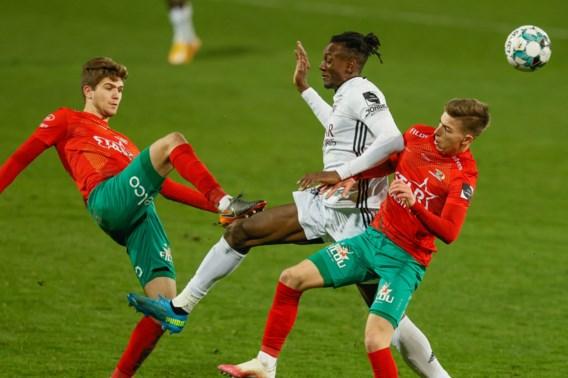 Tien Eupen-spelers houden KV Oostende op een felbevochten gelijkspel