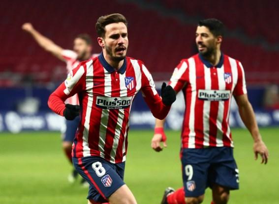 Koploper Atlético Madrid spoelt bekerkater door en laat geen steek vallen tegen Sevilla