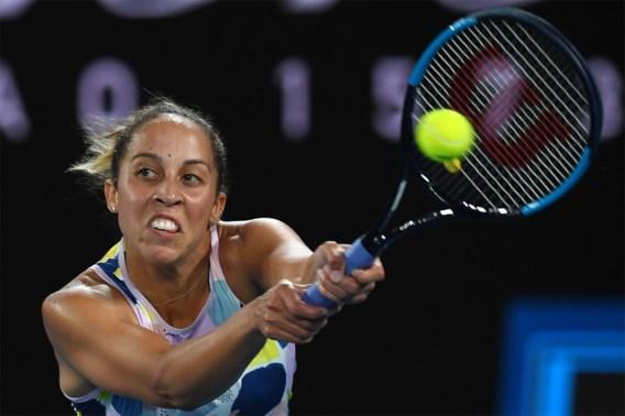 Tennisster Madison Keys is besmet met coronavirus en mist wellicht Australian Open