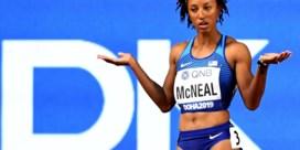 Olympisch hordekampioene Brianna McNeal geschorst wegens geknoei met dopingtest